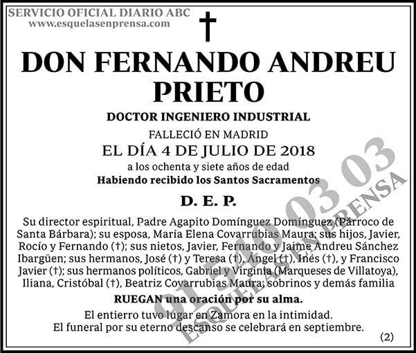 Fernando Andreu Prieto